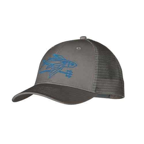 Patagonia geodesic flying fish trucker hat for Patagonia fish hat