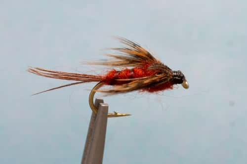 March brown nymph closeout sale half dozen for Fly fishing closeouts