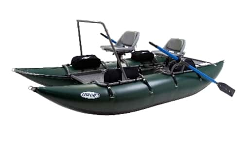Outcast fish cat 13 pontoon boat for Fish cat pontoon