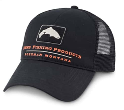 Simms trout trucker cap for Simms fishing hat
