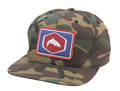 Simms Cotton Twill Patch Snapback Closeout Sale