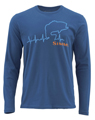 Simms Bass Heartbeat Long Sleeved T-shirt