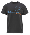 Simms Bass Heartbeat T-Shirt