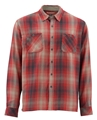 Simms Black's Ford Long Sleeve Flannel Shirt Closeout Sale