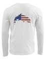 Simms Trout USA Long Sleeved T-shirt Closeout Sale
