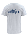 Simms Woodblock Tuna Short Sleeve Tee Closeout Sale