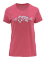 Simms Women's Woodblock Redfish T-Shirt Closeout Sale