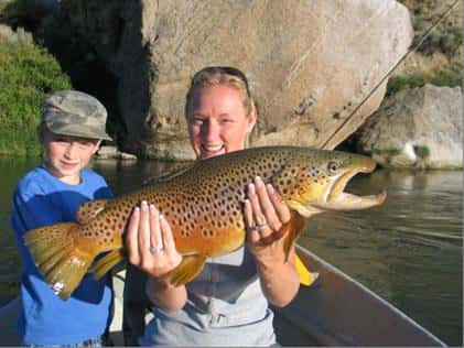 Wyoming fly fishing grey reef outfitter angler rates for Casper wyoming fly fishing
