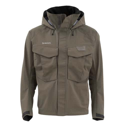 Simms guide jacket for Mens fishing rain gear