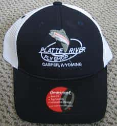 Platte River Fly Shop Logo Hats