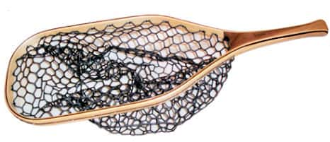 fisknat nets: methow fly fishing net with lightweight rubber bag, Fishing Reels