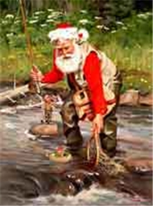 TOM BROWNING COLLECTION: SANTA CLAUS WITH NET: 15 PACK