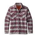 Patagonia Men's Insulated Fjord Flannel Jacket Closeout Sale
