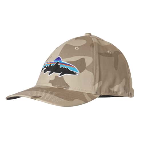 Patagonia fitz roy trout stretch fit hat for Patagonia fly fishing hat