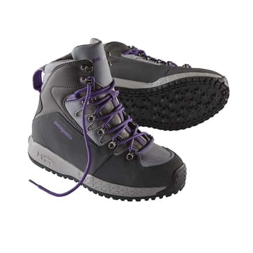 Patagonia women 39 s ultralight wading boots sticky for Fly fishing wading boots
