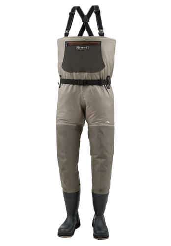 Simms g3 guide gore tex bootfoot fishing waders closeout sale for Fly fishing closeouts