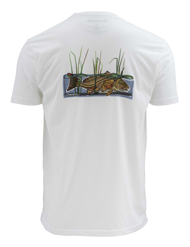 Simms larko redfish t shirt closeout sale for Fishing shirts on sale