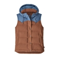 Patagonia Women's Bivy Hooded Down Vest Closeout Sale