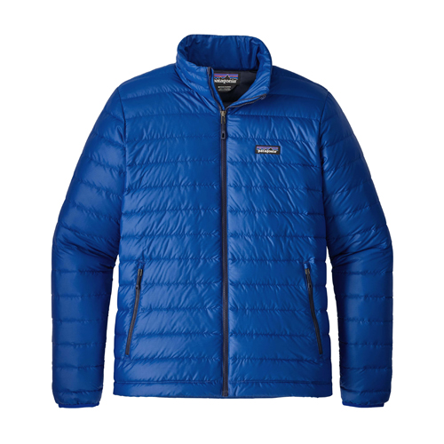 Patagonia Mens Down Sweater Jacket Viking Blue Closeout Sale