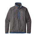 Patagonia Men's Performance Better Sweater 1/4 Zip Forge Grey Closeout Sale