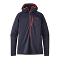 Patagonia Men's R1 Hoody Navy Blue Closeout Sale