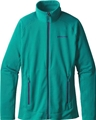 Patagonia Women's R1 Full-Zip Jacket True Teal Closeout Sale
