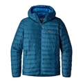 Patagonia Men's Down Sweater Hoody Big Sur Blue Closeout Sale