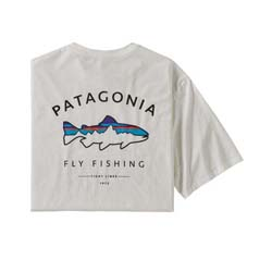 Patagonia Men's Framed Fitz Roy Trout Organic T-Shirt Closeout Sale