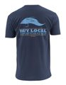 Simms Buy Local Salt Short Sleeve Tee Closeout Sale