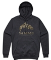 Simms Men's Trout Riparian Camo Hoody