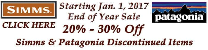 patagonia end of year closeout sale