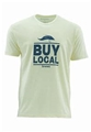 Simms Buy Local Salt Short Sleeve Tee Bargain Sale