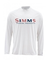 Simms Solarflex Long Sleeve Crewneck Graphic Print Bargain Sale