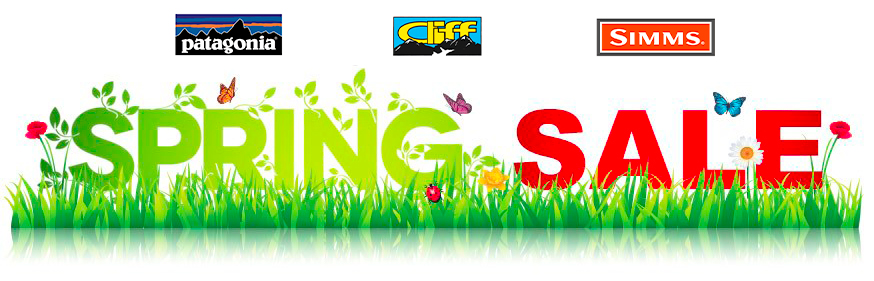 fly fishing spring sale