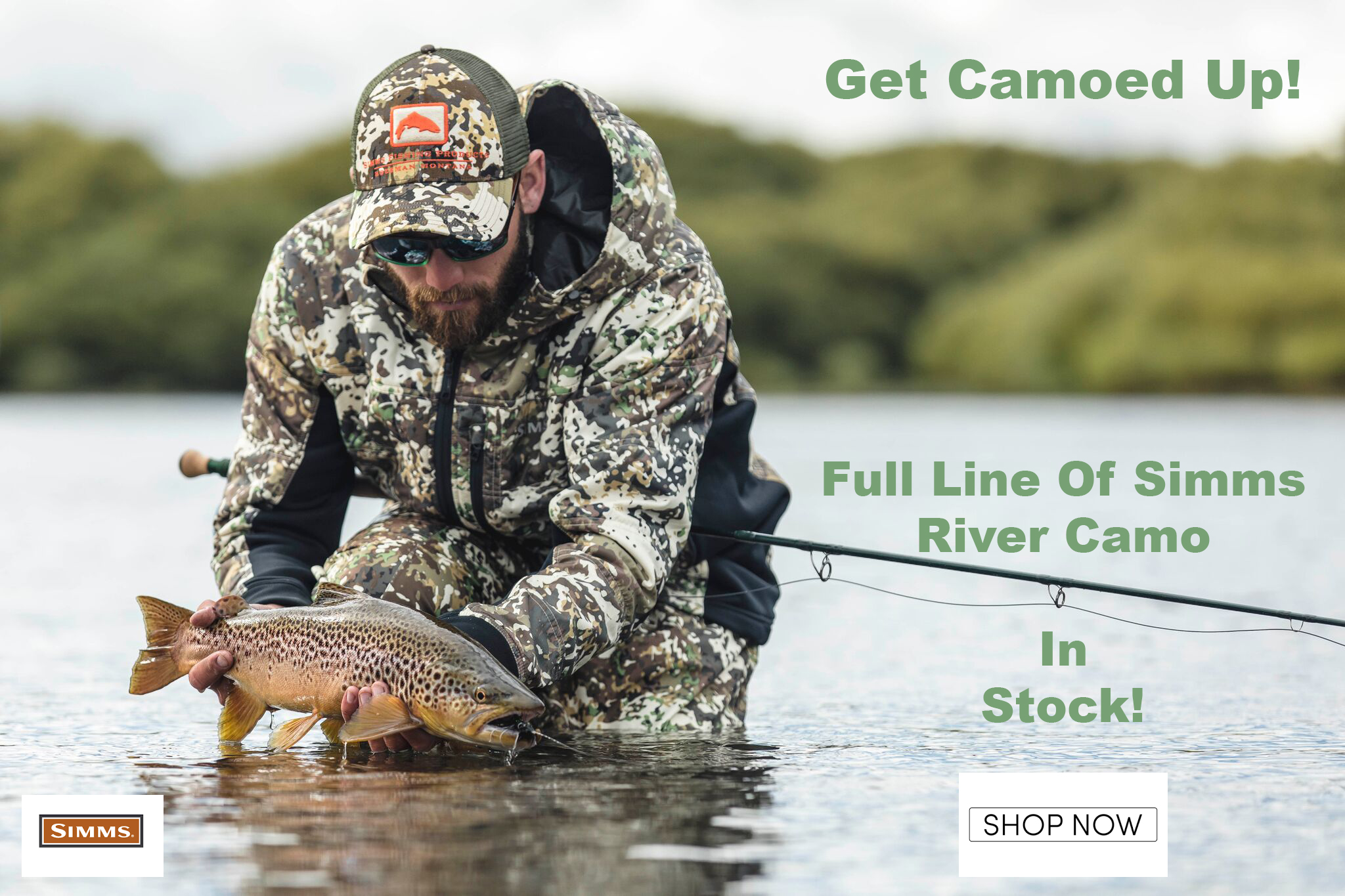 simms river camo selection