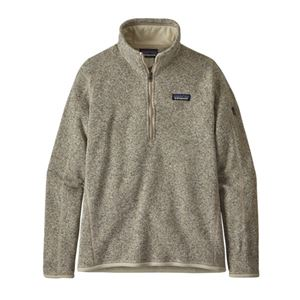 Patagonia Women's Better Sweater 1/4 Zip Sale On Select Colors