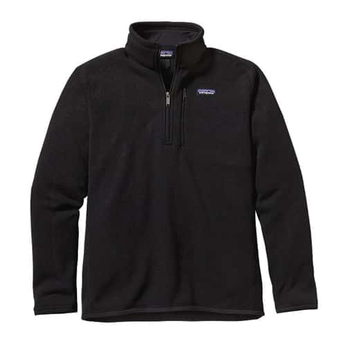 Patagonia Men's Better Sweater 1/4 Zip Closeout Sale