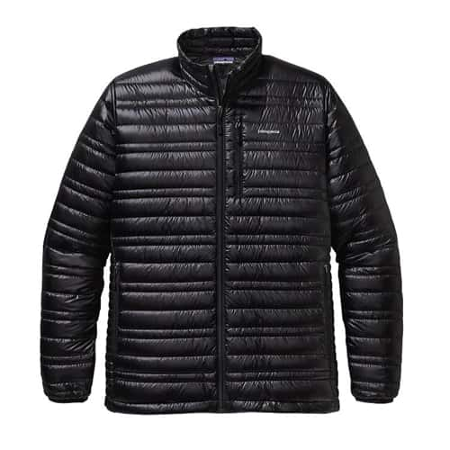 Patagonia Men's Ultralight Down Jacket Forge Grey XXL Closeout Sale