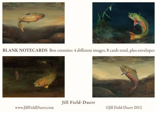 Jill Field-Duerr Boxed Fishing Note Cards