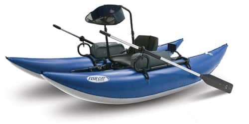 Outcast Fish Cat 10-IR Standup Pontoon Boat