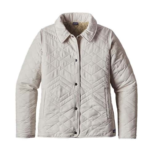 Patagonia Women's Quilted Los Gatos Jacket Forge Grey Closeout Sale