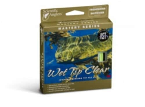 Scientific Anglers Mastery Wet Tip Clear Fly Line