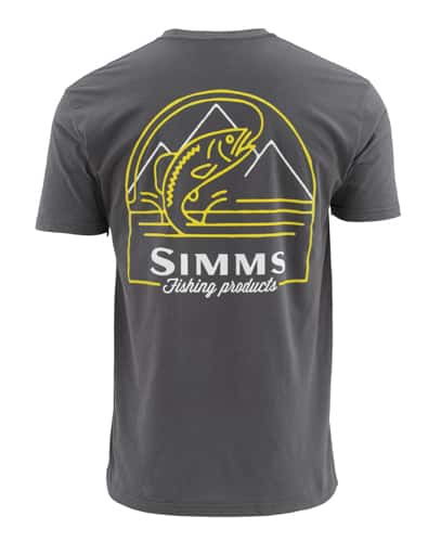 Simms Weekend Trout Short Sleeve Tee Closeout Sale