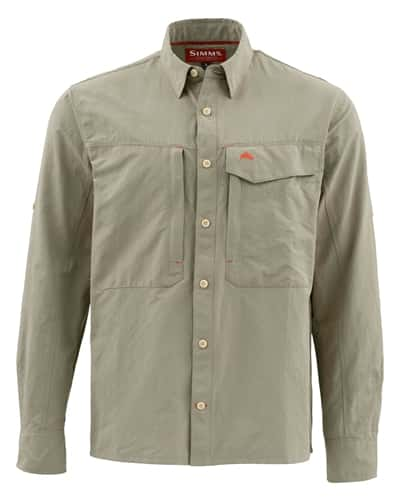 Simms Guide Long Sleeve Solid Shirt