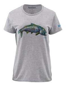 Simms Women's Artist Series Larko Tarpon Short Sleeve T  Bargain Sale