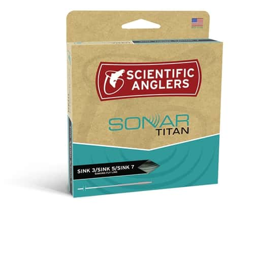 SCIENTIFIC ANGLERS SONAR TITAN SINK 3 / SINK 5 / SINK 7