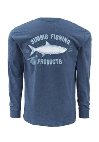 Simms Vintage Tarpon Long Sleeve T-Shirt Closeout Sale