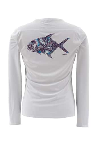 Simms Women's Solarflex Artist Series Crewneck XL Closeout Sale