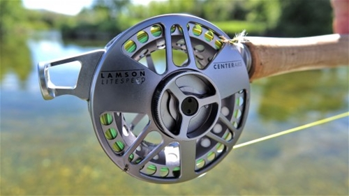 Waterworks Lamson Center Axis Fly Reel