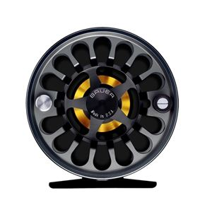 BAUER RX SPEY FLY REEL FLY LINE INCLUDED